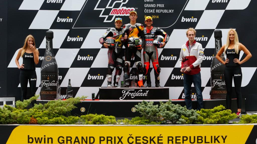 Moto2 Podium, CZE RACE