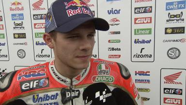Bradl pleased that seventh place shows progress