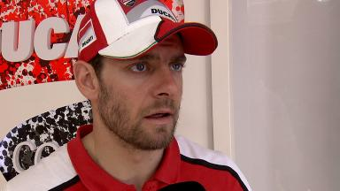 Crutchlow injures shoulder muscle at Brno