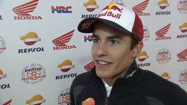 Marquez misses the podium for first time