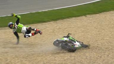 Brno 2014 - MotoGP - WUP - Action - Scott Redding - Crash