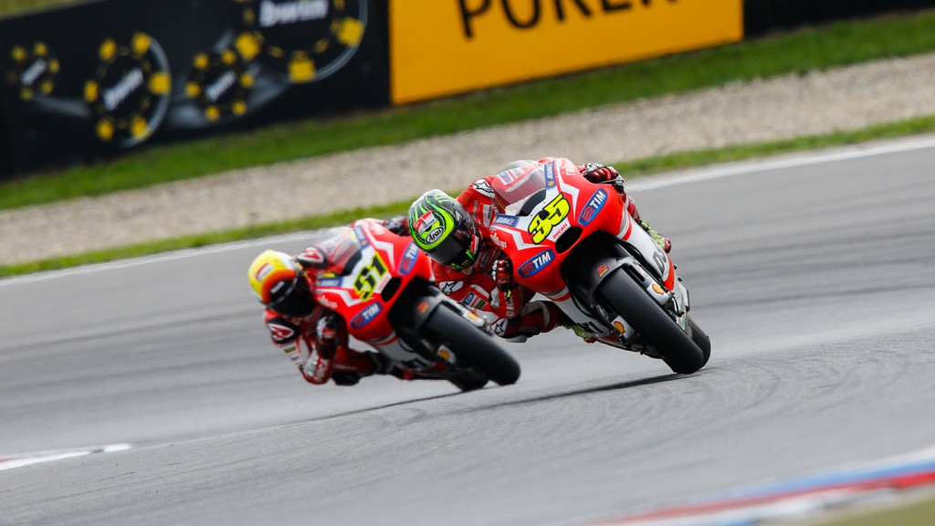 Cal Crutchlow, Michele Pirro, Ducati Team, CZE RACE
