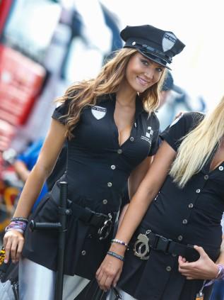 Фото красивые девушки полицейские