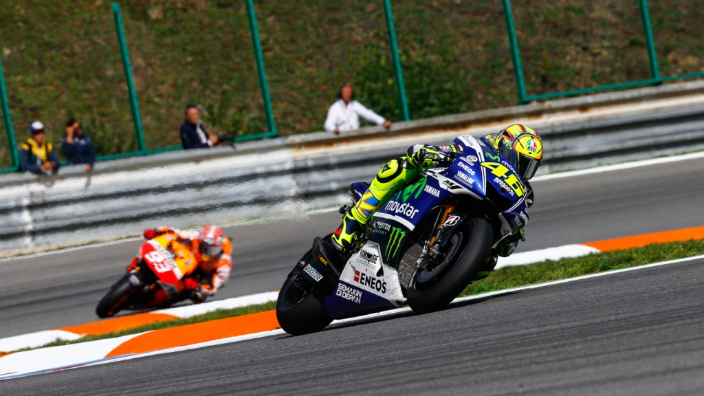 Valentino Rossi, Marc Marquez, Movistar Yamaha MotoGP, Repsol Honda Team, CZE RACE