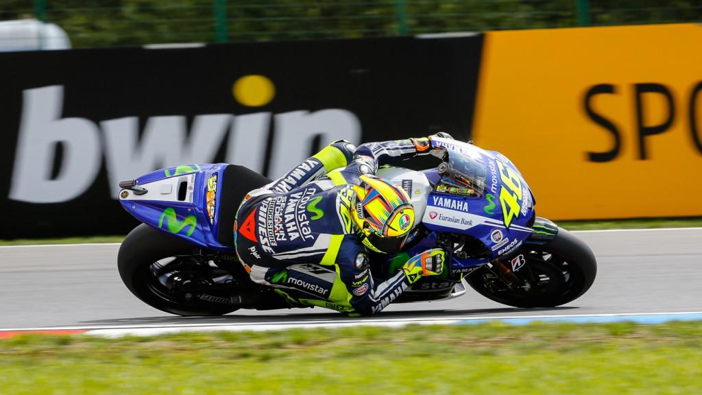 Valentino Rossi, Movistar Yamaha MotoGP, CZE WUP