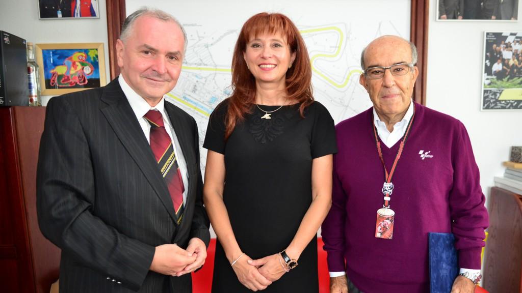 Stanislav Juranek, Ivana Ulmanova, Carmelo Ezpeleta