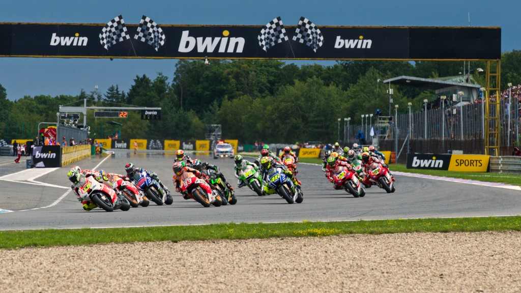 MotoGP Start, CZE RACE
