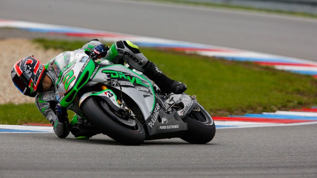 Leon Camier, Drive M7 Aspar, MotoGP Brno Test