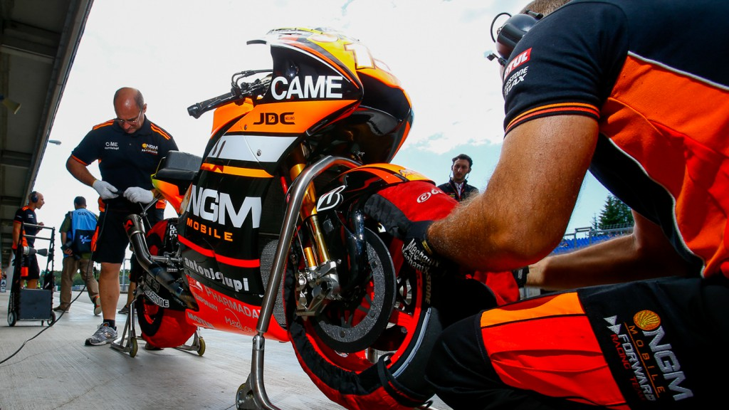 Mar Marquez's bike, Repsol Honda Team, MotoGP Brno Test