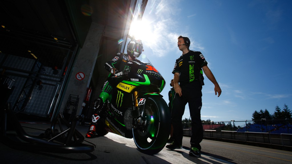 Bradley Smith, Monster Yamaha Tech 3, MotoGP Brno Test