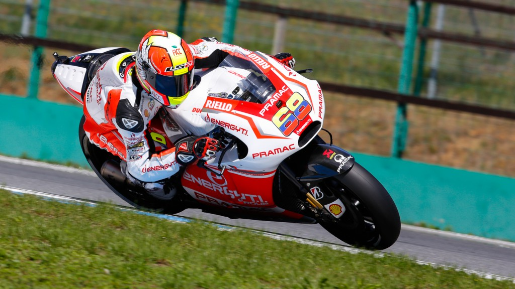 Yonny Hernandez, Pramac Racing, MotoGP Brno Test