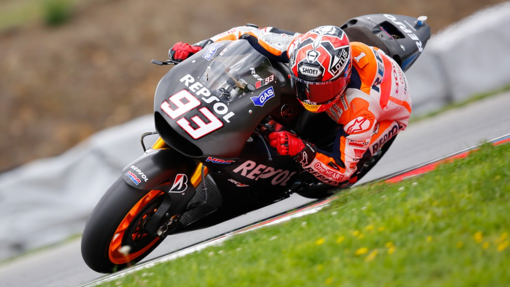 Marc Marquez, Repsol Honda Team, MotoGP Brno Test