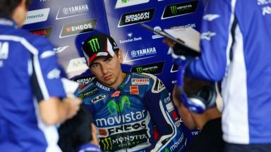 Jorge Lorenzo, Movistar Yamaha MotoGP, MotoGP Brno Test