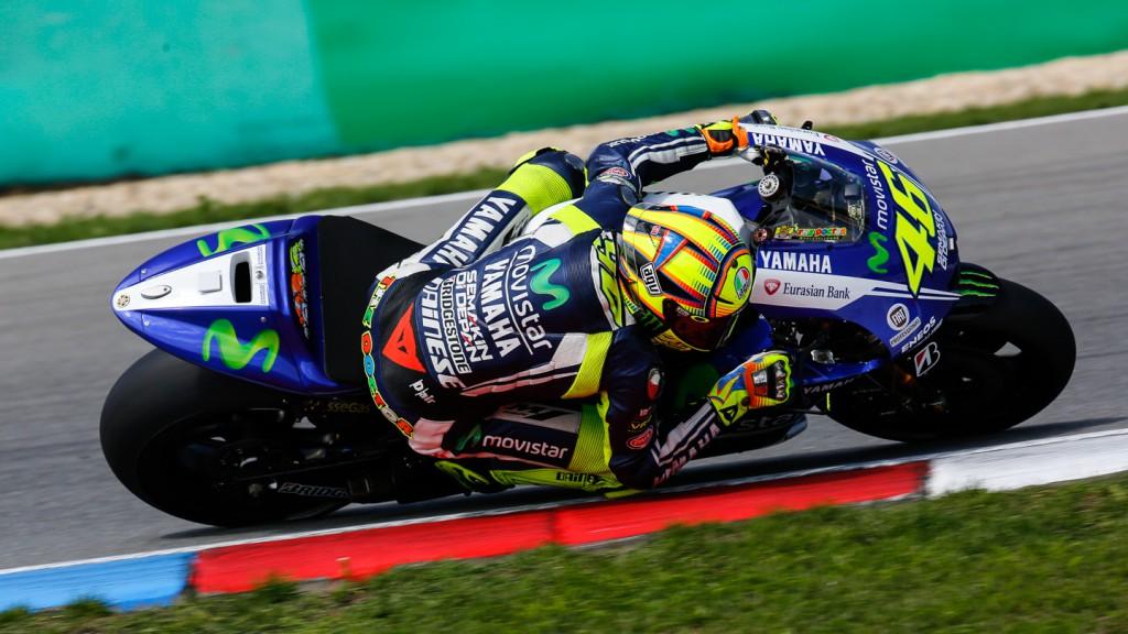 Valentino Rossi, Movistar Yamaha MotoGP, MotoGP Brno Test