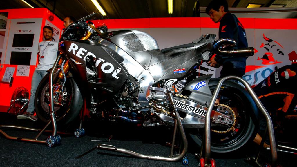 Pedrosa's 2015 RC213V Honda, MotoGP Brno Test