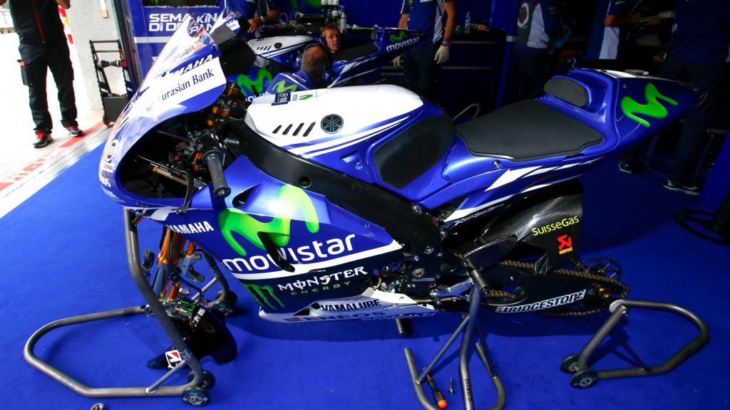 Jorge Lorenzo's bike, Movistar Yamaha MotoGP, MotoGP Brno Test