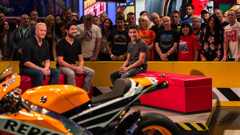 Marc Marquez on BT Sport's MotoGP Tonight