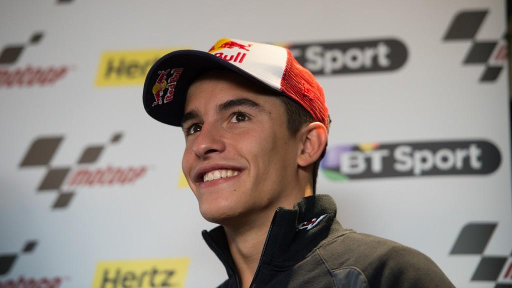 Marc Marquez, London MotoGP Pre Event