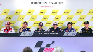Hertz British Grand Prix: Pre-event Press Conference