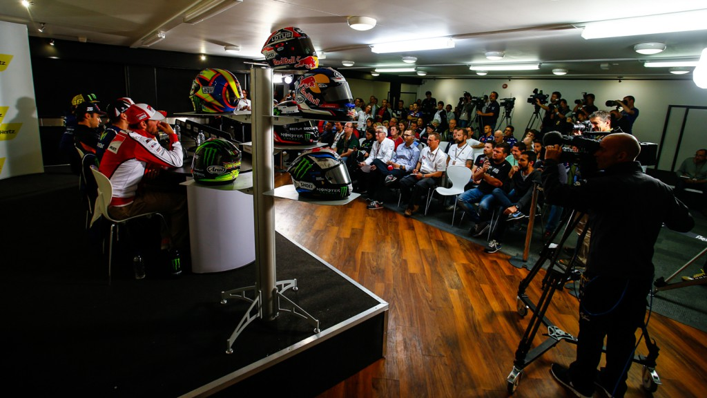 Hertz British Grand Prix Press Conference