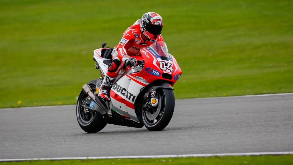 Andrea Dovizioso, Ducati Team, GBR FP2