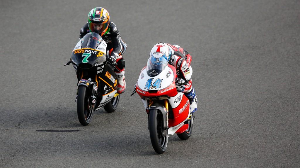Miguel Oliveira, Efren Vazquez, Mahindra Racing, SaxoPrint-RTG, GBR FP2