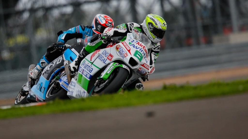 Hector Barbera, Danilo Petrucci, Avintia Racing, Octo IodaRacing Team, GBR FP2