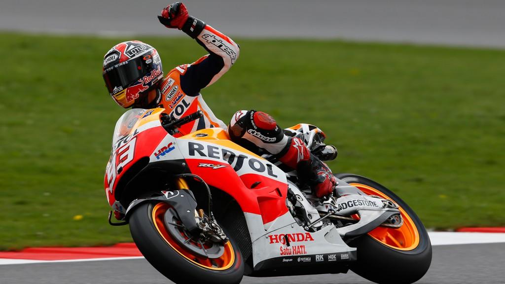 Marc Marquez, Repsol Honda Team, GBR FP2