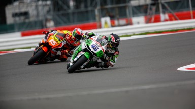 Scott Redding, Alex De Angelis, GO&FUN Honda Gresini, NGM Forward Racing, GBR FP2