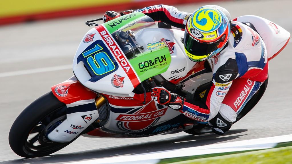 Xavier Simeon, Federal Oil Gresini Moto2, GBR FP2