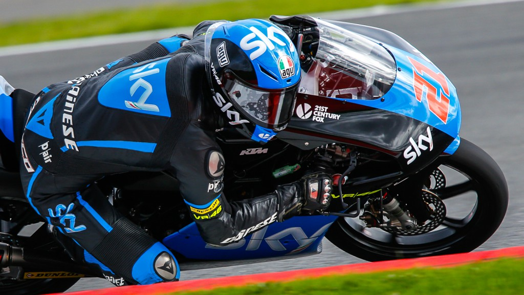 Francesco Bagnaia, SKY Racing Team  VR46, GBR FP2