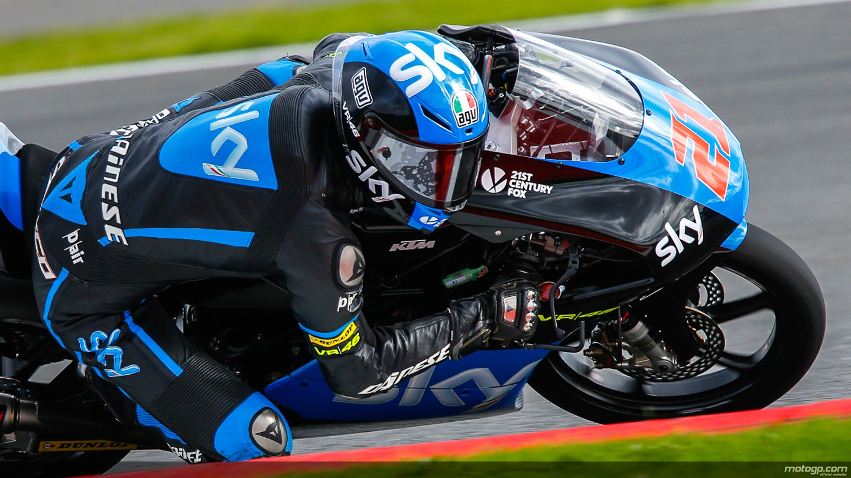motogp.com · Francesco Bagnaia, SKY Racing Team VR46, GBR FP2
