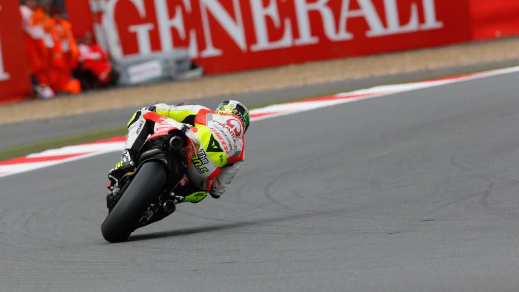 Andrea Iannone, Pramac Racing, GBR FP2
