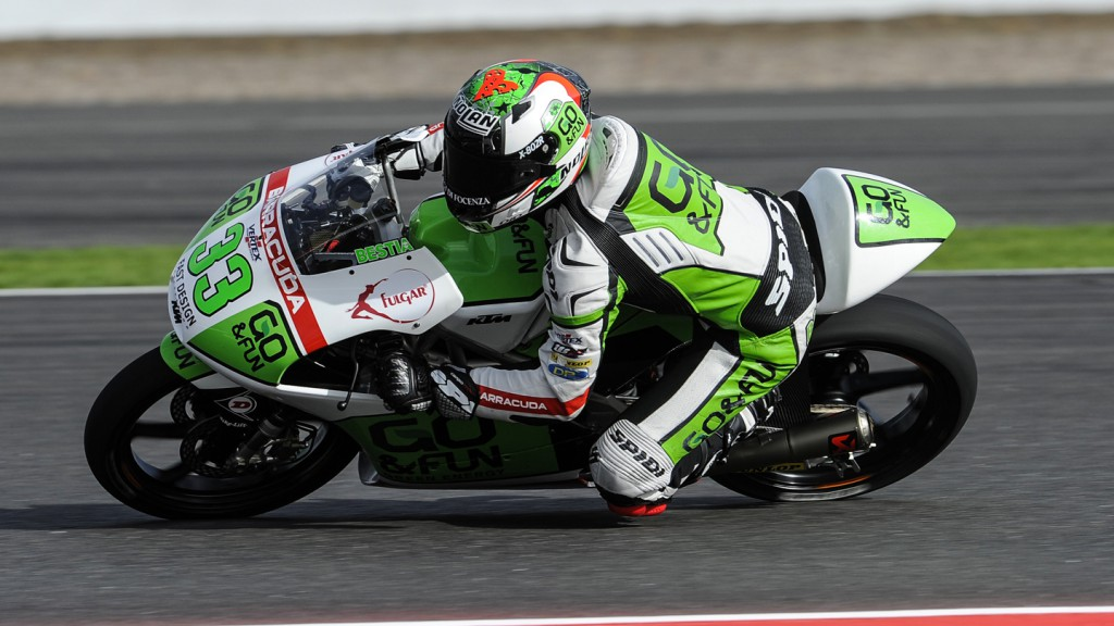 Enea Bastianini, Junior Team GO&FUN Moto3, GBR FP2