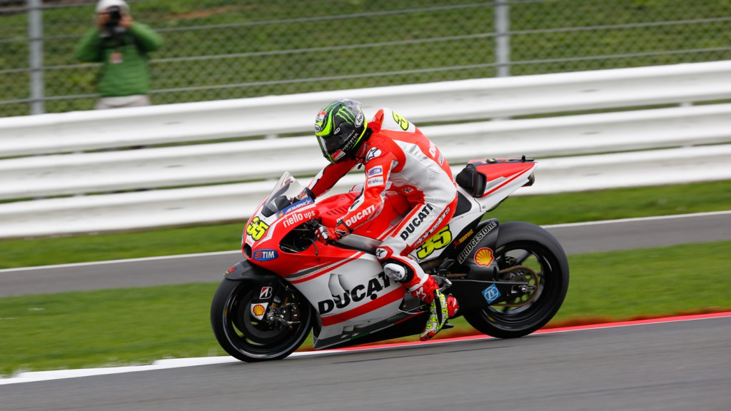 Cal Crutchlow, Ducati Team, GBR FP2