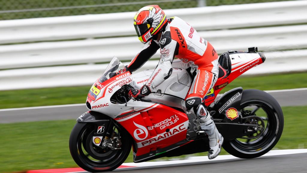 Yonny Hernandez, Pramac Racing, GBR FP2