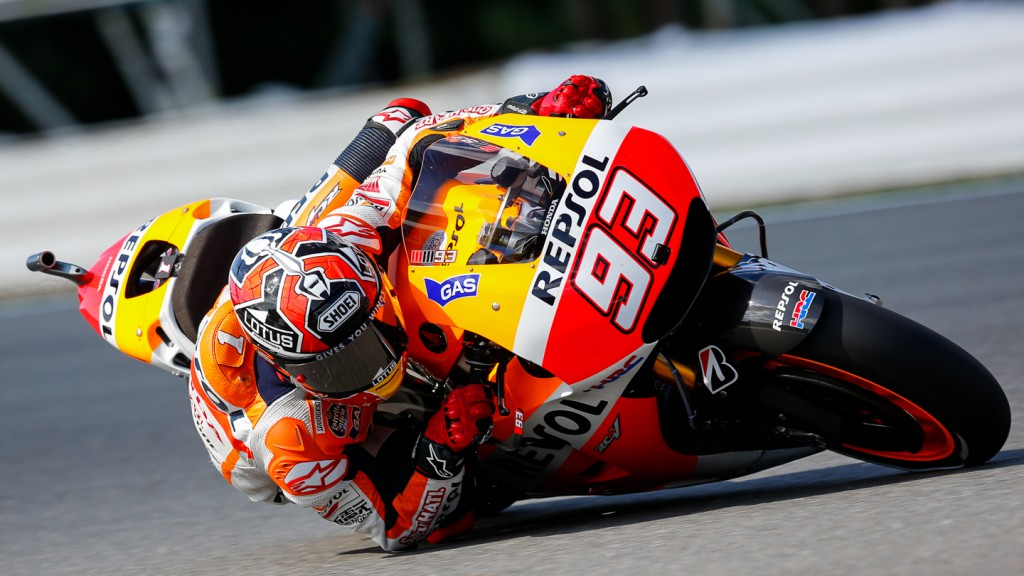 Marc Marquez, Repsol Honda Team, GBR FP1
