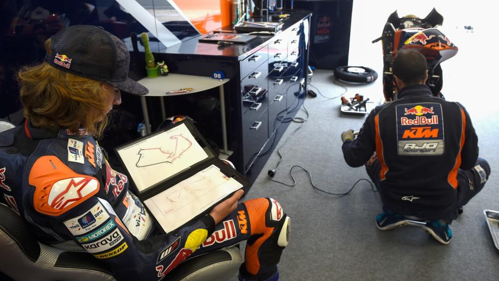 Karel Hanika, Red Bull KTM Ajo, GBR FP2