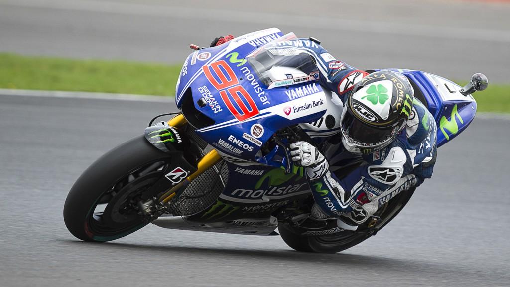 Jorge Lorenzo, Movistar Yamaha MotoGP, GBR FP1
