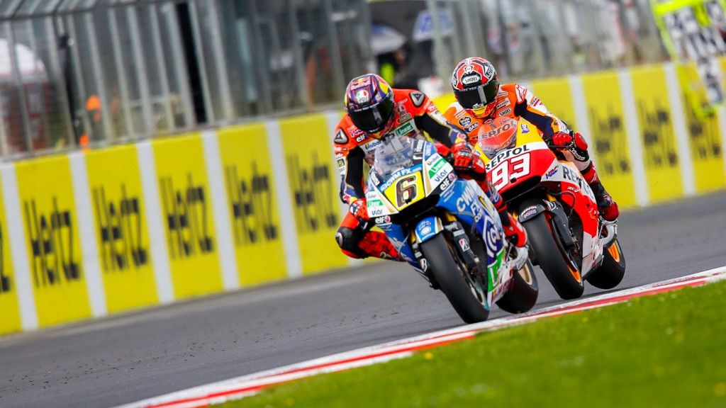 Stefan Bradl, Marc Marquez, LCR Honda MotoGP, Repsol Honda Team, GBR Q2
