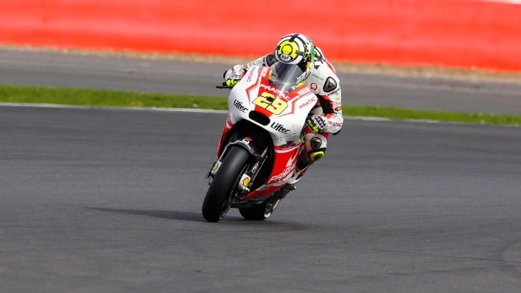 Andrea Iannone, Pramac Racing, GBR Q2