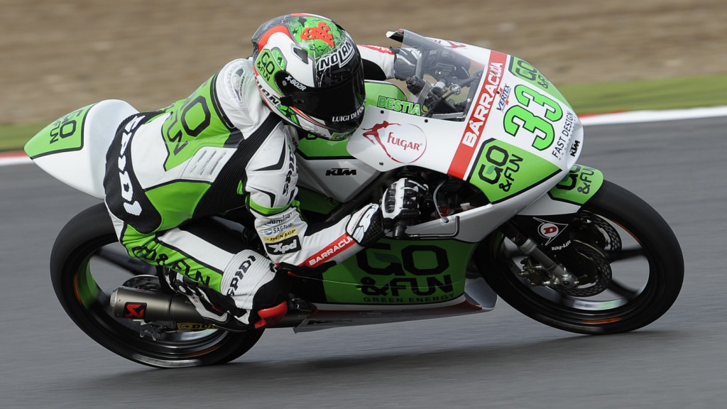 Enea Bastianini, Junior Team GO&FUN Moto3, GBR QP