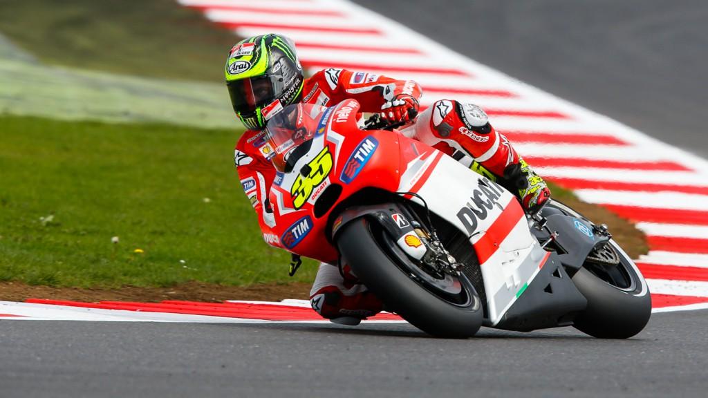 Cal Crutchlow, Ducati Team, GBR Q2