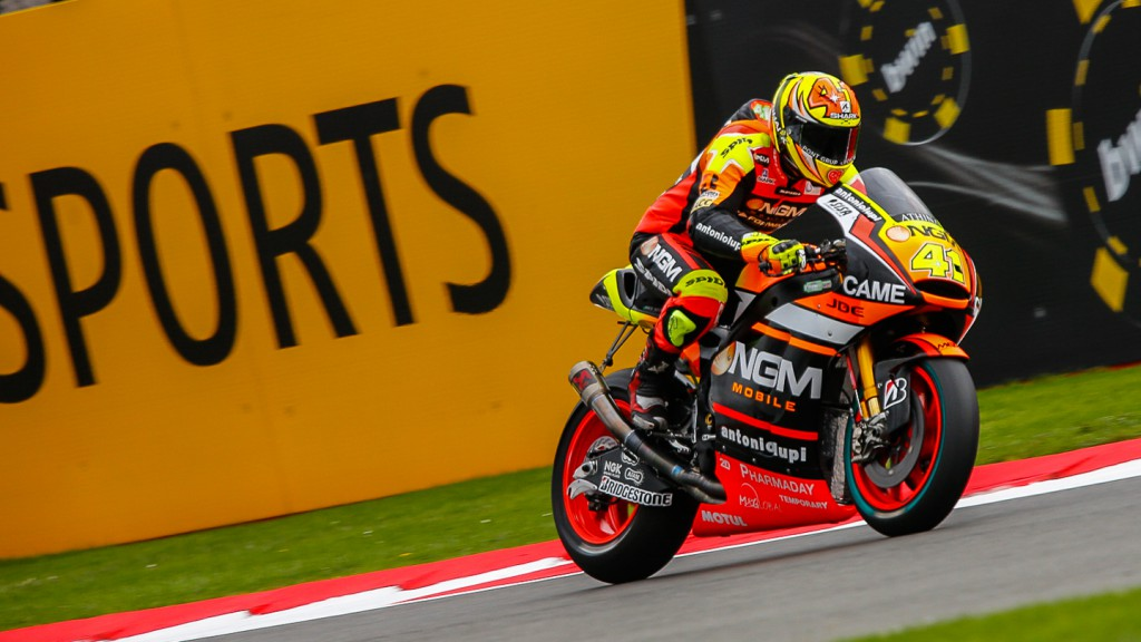 Aleix Espargaro, NGM Forward Racing, GBR FP3