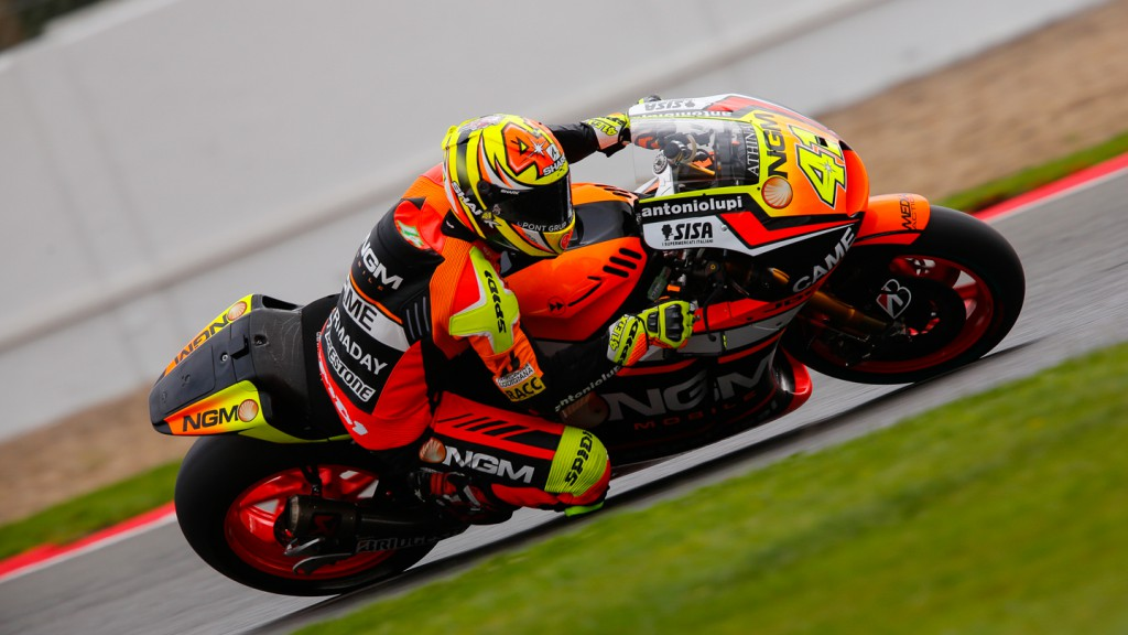 Aleix Espargaro, NGM Forward Racing, GBR FP4
