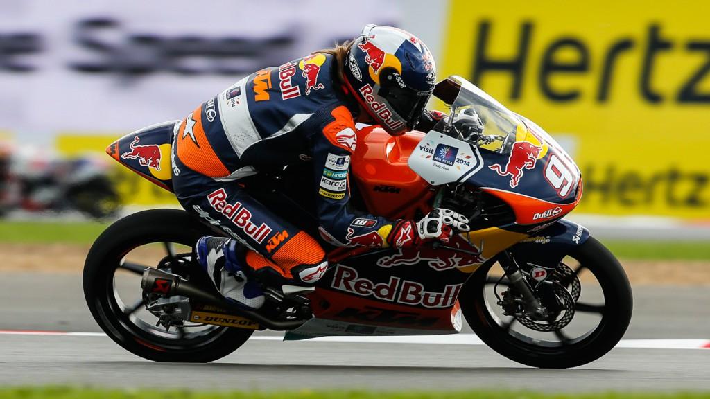 Karel Hanika, Red Bull KTM Ajo, GBR QP