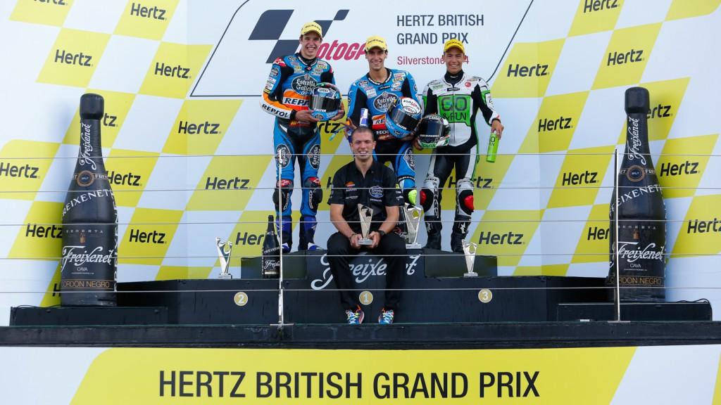 Moto3 Podium, GBR RACE