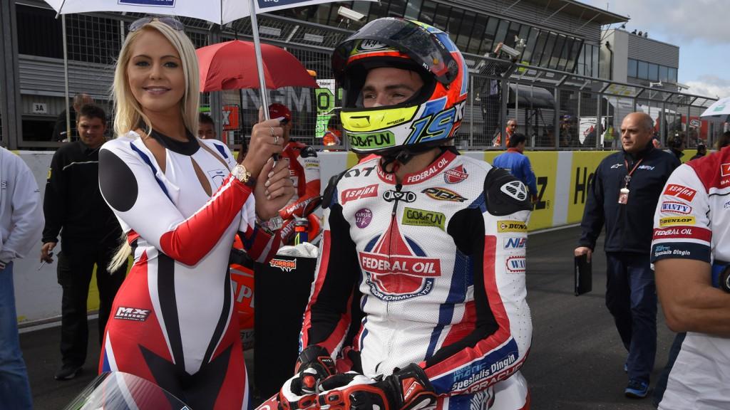 Xavier Simeon, Federal Oil Gresini Moto2, GBR RACE