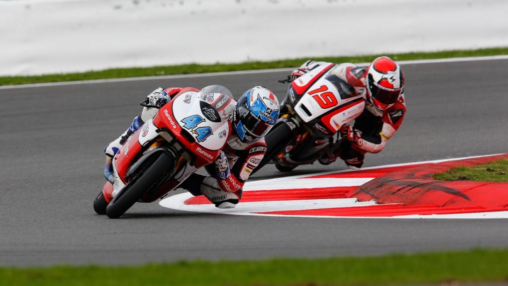 Miguel Oliveira, Alessandro Tonucci, Mahindra Racing, CIP, GBR WUP