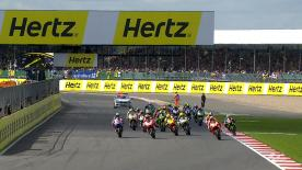 The Hertz British Grand Prix saw a great battle between Marc Marquez and Jorge Lorenzo won by Marquez as he made an immediate return to winning ways, whilst Valentino Rossi joined them on the podium.
